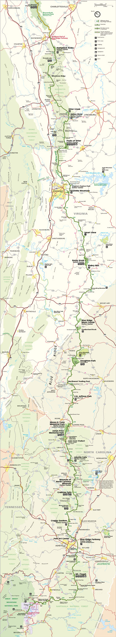 Planning Your Parkway Visit